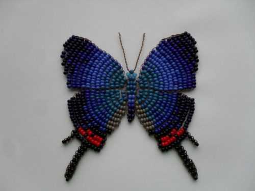 Бабочка из бисера: пошаговый мастер-класс как сплести красивую бабочку своими руками (100 фото)