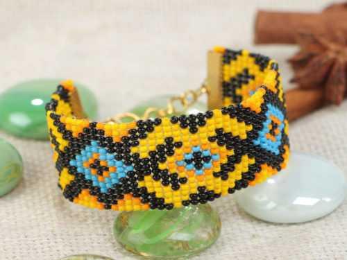 Браслеты из бисера — самые красивые варианты создания бисерных браслетов разных форматов (120 фото)
