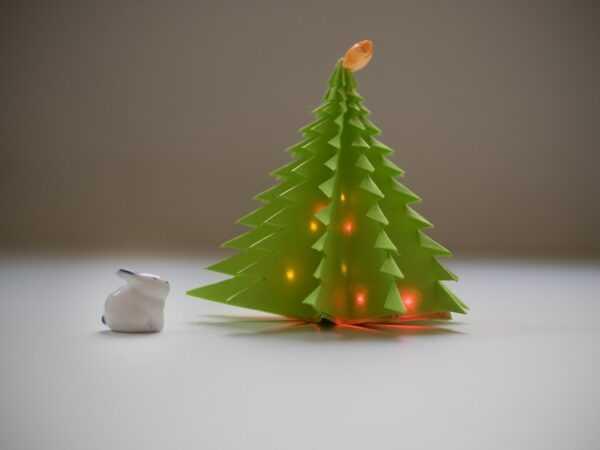 Елочка оригами из бумаги своими руками: простая инструкция с фото и описанием складывания оригами