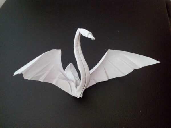 Лебедь из бумаги в технике оригами своими руками поэтапно: ТОП — 150 фото лучших идей и новинок