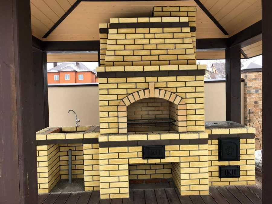 Мангал из кирпича: ТОП-150 фото. Строим своими руками удобный и качественный мангал для дома и дачи