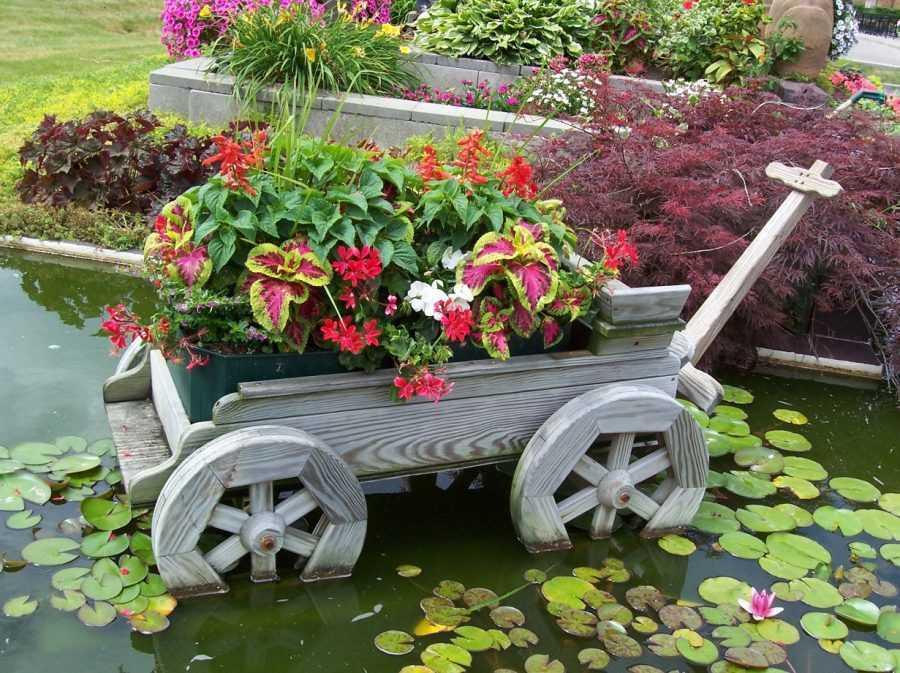 Новинки поделок для сада — подробный мастер-класс создания уникальных скульптур и декораций для сада (120 фото идей)