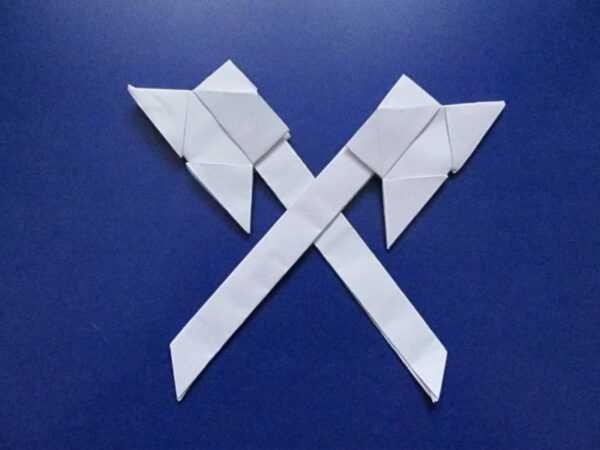 Оригами оружие из бумаги своими руками поэтапно: ТОП-100 фото интересных идей для создания оригами