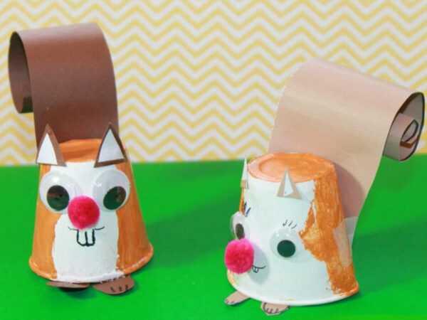 Поделки из стаканчиков — как сделать классные игрушки и украшения из пластиковых стаканчиков своими руками (155 фото)