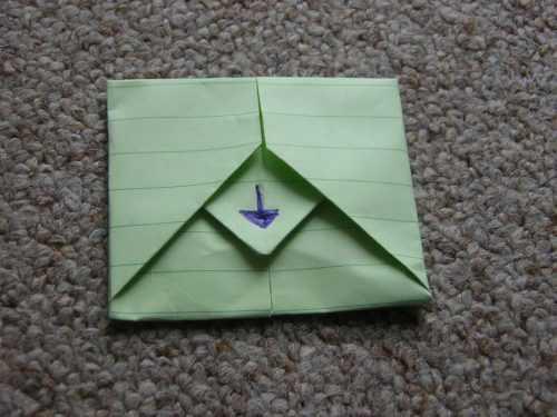 Конверт оригами: большой выбор идей по складыванию оригами из бумаги своими руками