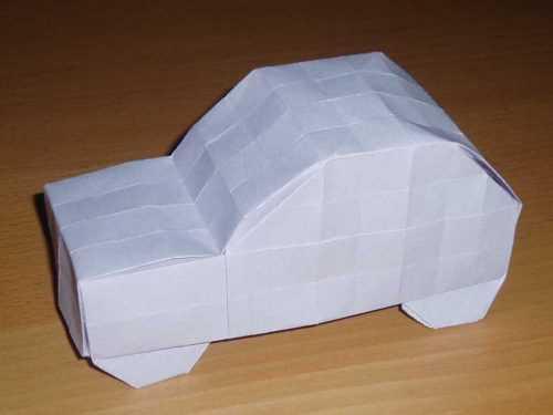 Машина оригами из бумаги своими руками поэтапно: легкая схема складывания оригами с фото и описанием