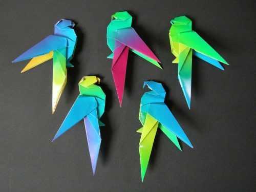 Оригами птица из бумаги своими руками поэтапно: 100 фото лучших идей по складыванию красивого оригами